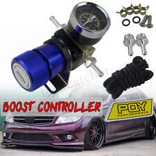 Universal Turbo Manual Boost Controller with Gauge 1-150 PSI SR20DET SR Blue