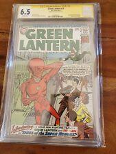 Green Lantern #13 CGC 6.5 Classic Cover 1st SA Flash Crossover Signed Joe Giella