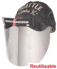 Visière de protection COV 19 anti postillon/goutelette casquette EF0010