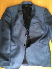 Scotch & Soda Mens S/M 40R Gorgeous Classic Blue Black Jacket VGC