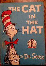 Cat In The Hat 1957 Dr Seuss Book Club Edition Beginner Book