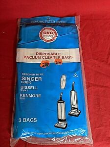 DVC Brand Singer SUB-3 Bissell Style 2 Vacuum Cleaner Bags