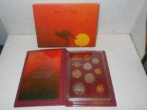 1989 RAM Royal Australia Mint proof 8 Coin Set in folder