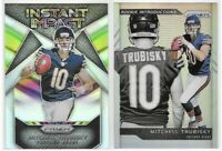 2017 Prizm Mitchell Trubisky Rookie Introductions Instant Impact Silver Lot TI