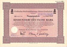 Gladbacher Alemania AG 100dm 1957 Mönchengladbach