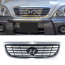 OEM Chrome Hood Radiator Grill For HYUNDAI 2001- 2003 2004 2005 2006 Terracan