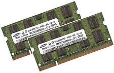 2x 2GB 4GB DDR2 RAM Speicher Toshiba Tecra A7 A8 A9 M5