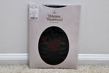 New Authentic Vivienne Westwood Alice Orb Heart Panty Stocking M/L Made in Japan