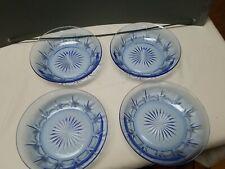 Avon Saphire Blue Bowls Set Of 4