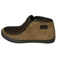 Woolrich Ankle Slip On Boots Mens Size 8 Leather Upper Rubber Soles WS1154-228