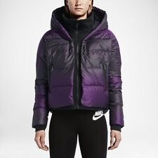 Womens Nike Tech Uptown 550 Cocoon Puffa Down Jacket Size SMALL NikeLab Black
