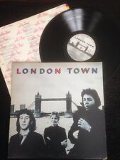 Wings - London Town (With A little Luck etc) Vinyl LP Lyric Inner Sleeve MPL