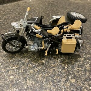 POLISTIL BMW-R75 Motorcycle with Sidecar MS110 Made In Italy. Excellent.