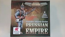 28mm Spartan Games Dystopian legions Prussian Empire Grenadier Infantry Section