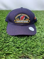 New Jersey Devils 2000 Eastern Conference Champions Snapback Hat Vintage 🏒🔥