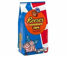 Reese's Peanut Butter Cup Miniatures Red-White and Blue 11 oz Limited Edition