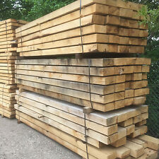 new green oak railway sleepers  extra long  200 x100 x 3000 mm