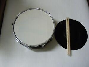 Snare Drum kleine Trommel Übepad 1 Paar Sticks Ständer  030301