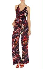 EXQUISITE KAREN MILLEN FLORAL JUMPSUIT UK16 *new with tags*!!