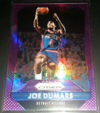 Joe Dumars 2015-16 Panini Prizm PURPLE PRIZM Insert Card (#'d 93/99)