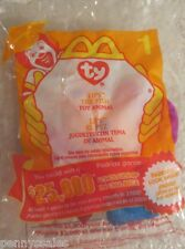 Mcdonald's Ty Teenie Beanie Lips 2000 #1