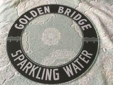 glo dial vintage electric neon clock golden bridge sparkling water glass 15 IN