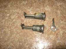 1959-60 Chevrolet full size car door locks with a key that fits both.