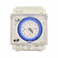 Interruptor Temporizador Mecánico Analógico 110V-220V 24 Horas Programable  O2R9