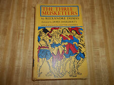 The Three Musketeers by Alesandre Dumas, Macmillan Company 1962, First Printing