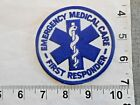 EMERGENCY MEDICAL CARE FIRST RESPONDER PATCH   FREE shipping