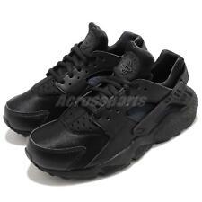 Nike Air Huarache Run Black/black Women Size 8.5 634835 012