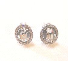 Formal Clear Crystal Stud Earrings