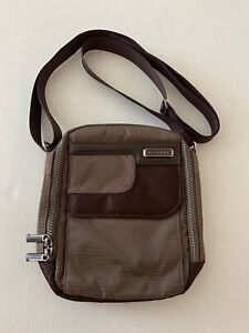 $65 Acegene Mens Crossbody Shoulder Messenger Bag  NWT