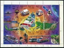 Mexico 1695 sheet,MNH.Michel 2218-2239. Integrated Communications Systems,1991.