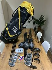 Vantage/skymax Mens Full Set Of Golf Clubs & Lynx Bag - Right Handed - Beginners