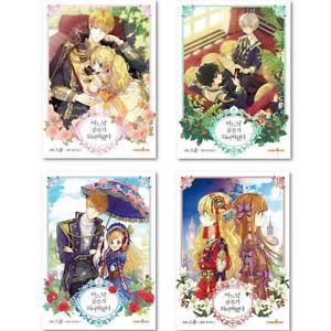 Who Made Me a Princess Vol.1~4 Sets / Korean Webtoon Book Cartoon Comics