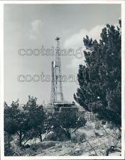 1967 Shell Oil Well No 8 Mitchell Crockett County Texas Press Photo