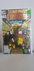 THE INFINITY CRUSADE #1 - Gold Foil 1993 - FN/VF Marvel Comics
