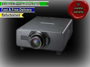 Panasonic DS20KE 20,000 Lumen Projector smaller lighter low power thn BARCO HD20