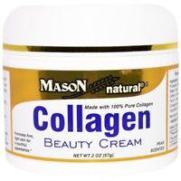 Crème de beauté au Collagène 100%pur, peau ferme 57gr Beauty Cream Mason Natural