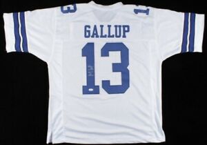 Michael Gallup Signed Jersey (JSA COA)Dallas Cowboys