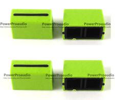 4pc Channel Crossfader Fader Cap Knob For RANE 57 TTM57 TTM57sl TTM57mk2(GREEN)