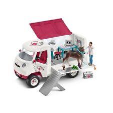 SCHLEICH 42370 Horse Club Mobile Tierärztin mit Hannoveraner Fohlen Pferd Auto