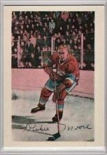 James Moore 1952-53 Parkhurst Montreal Canadiens REPRINT Hockey Card #10