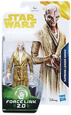 Star Wars Force Link 2.0 Supreme Leader Snoke Figure Action. Included