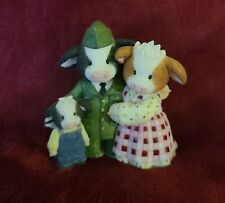 Mary's Moo Moos, Home Is Where The Herd Is Figurine, Enesco 927996