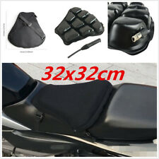 Motorcycle 32x32cm Comfortable Inflatable Pad Airbag Seat Non-slip Shock Cushion