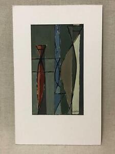 Mid Century Modern Trewin Copplestone Abstract Oil Painting - Modern British