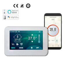 Riscaldamento a pavimento 4.3' touch screen a colori Wi-Fi Termostato Pavimento & Aria di rilevamento