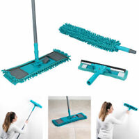 Alpina 7Pcs Microfibre Home Cleaning Set Floor Mop / Window Cleaner / Duster